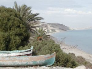 spiaggia di falconala panoramica